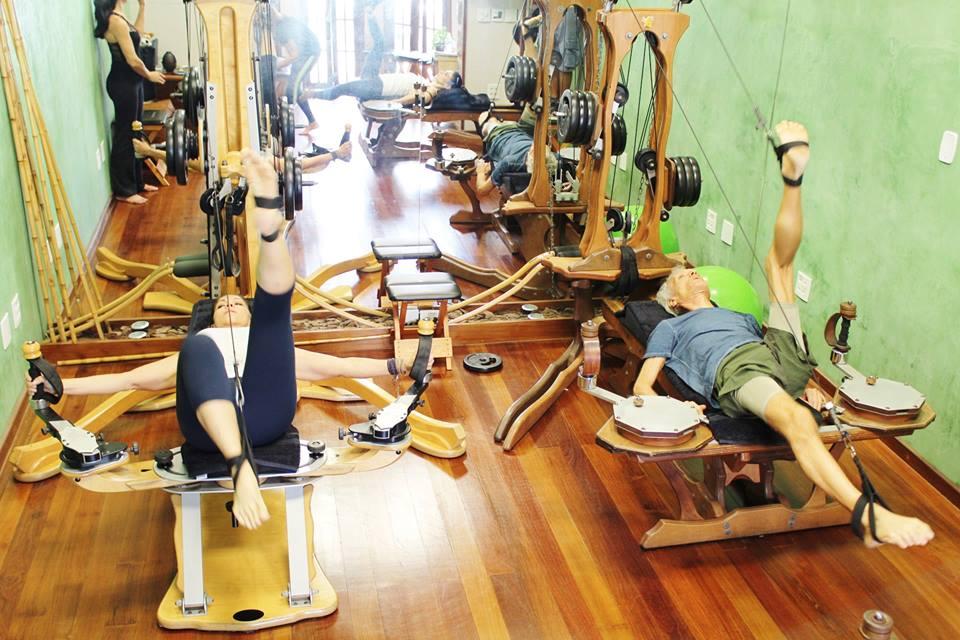 Máxima mobilidade do corpo em um exercício completo